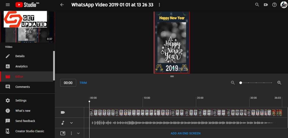 New YouTube Studio – GetUpdated